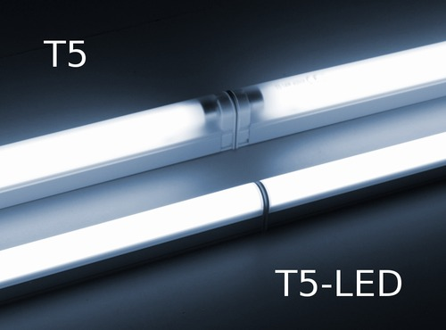 led leuchten im t5 leuchten stil robuste metallgeh use einfache. Black Bedroom Furniture Sets. Home Design Ideas